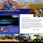 Pallasart Builds New Reece Albert Trucking Website