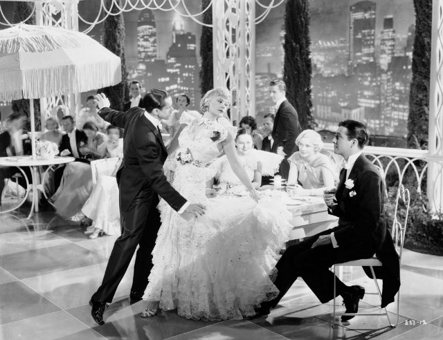 Nick Long Jr. and Una Merkel in Broadway Melody of 1936