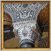 Column Capital in Hagia Sophia