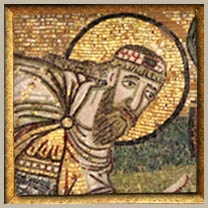 Leo mosaic from the narthex of Hagia Sophia
