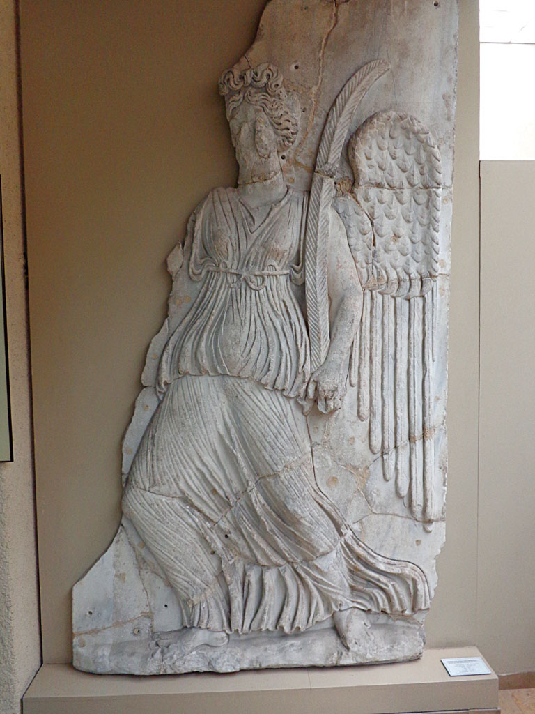 Marble victory from Blachernae palace gate