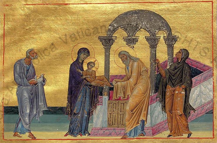 Christ in the Temple Byzantine Silver Ciborium