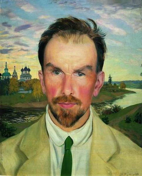 Alexander Asinimov portrait Russian Museum