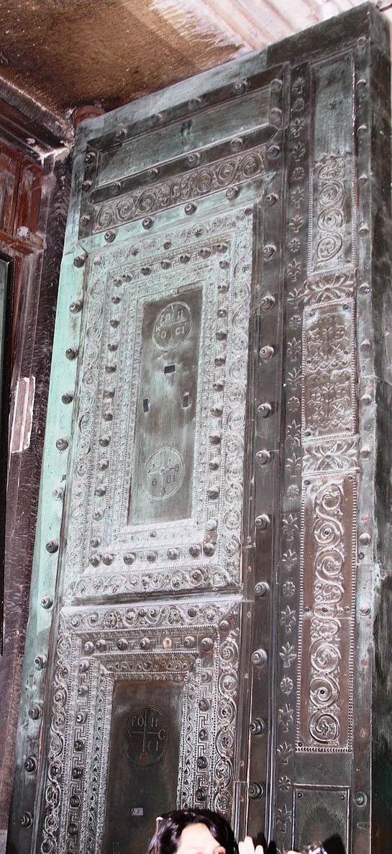 Beautiful Bronze Doors in Hagia Sophia