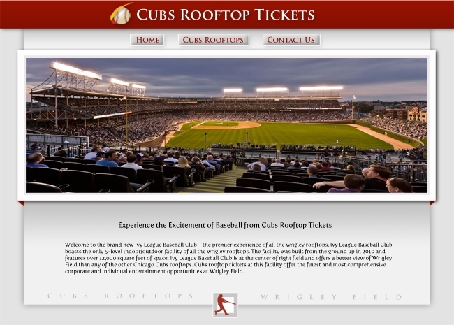 Cubs Rooftop Tickets