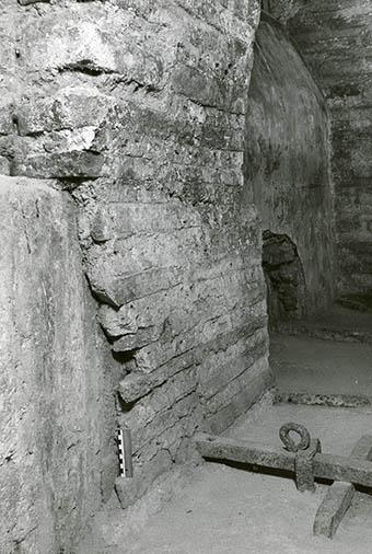 Dome rib in Hagia sophia