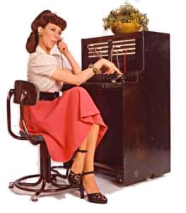 Ernestine Switchboard Operator