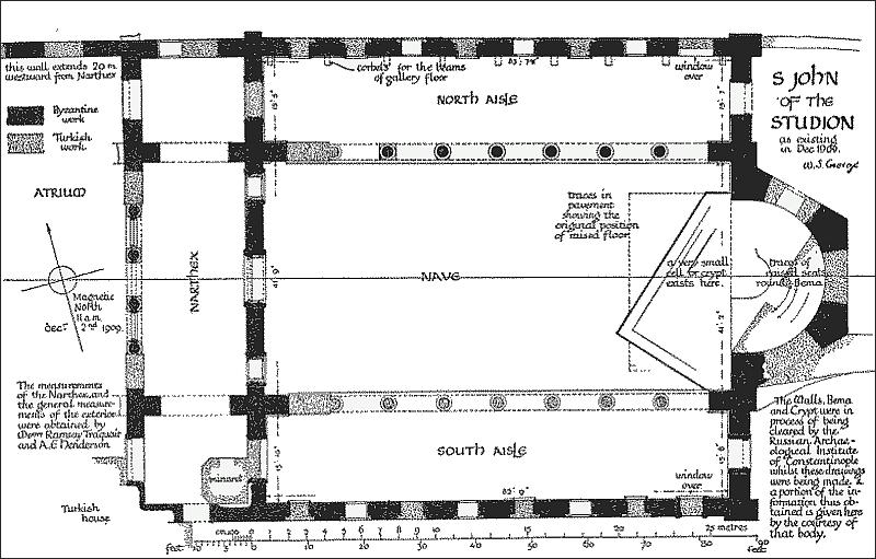 Plan Saint John Studion Stoudios