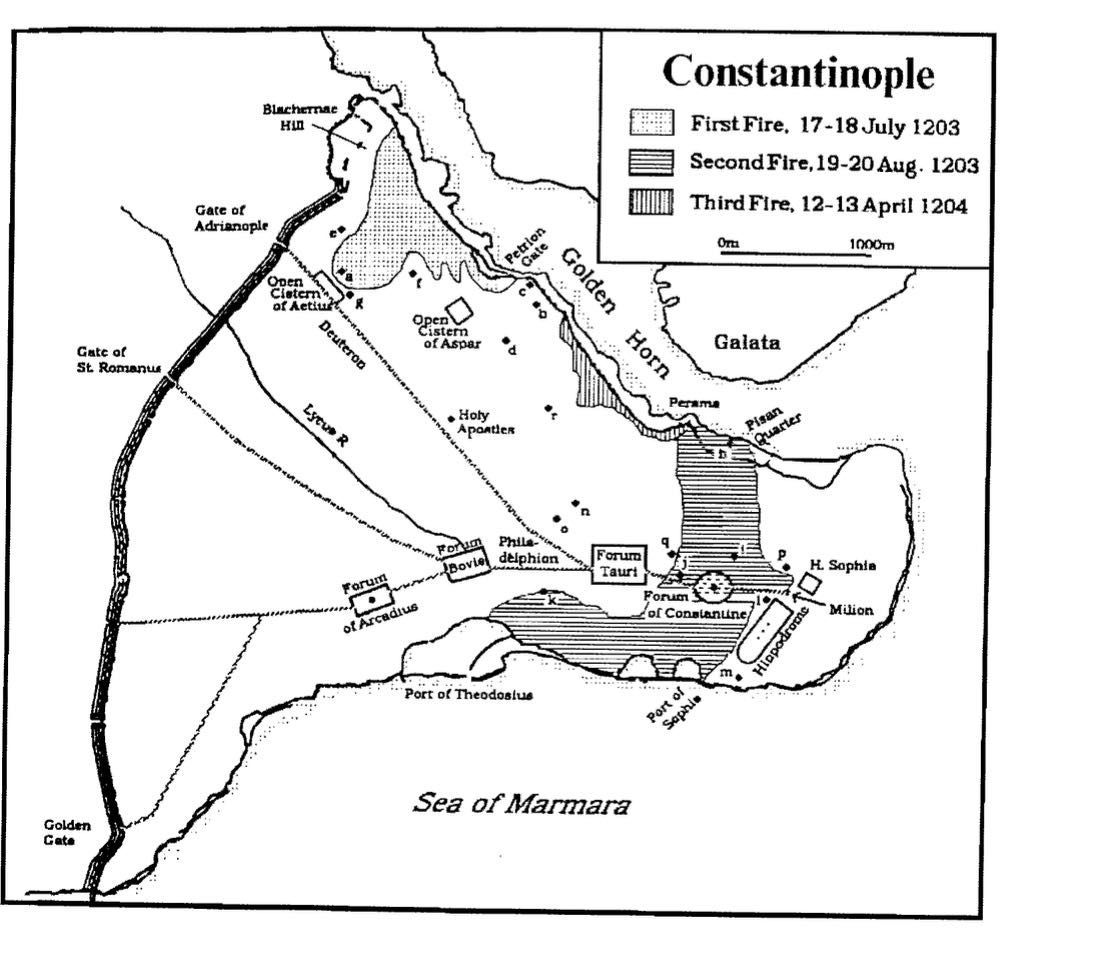 Fires in Constantinople