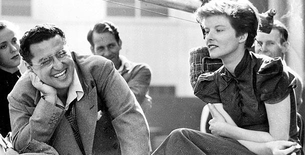 Cukor and Hepburn