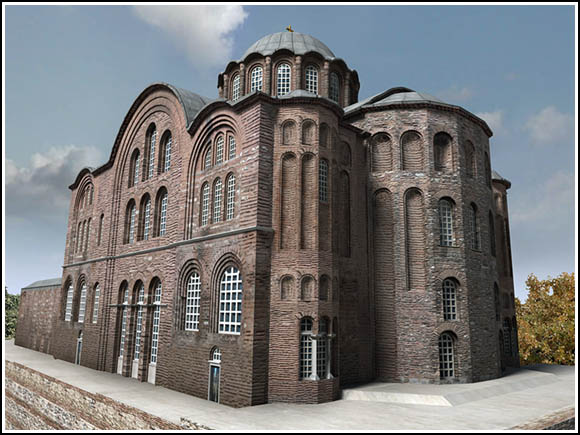 The Chruch of Saint Theodosia in Constantinople