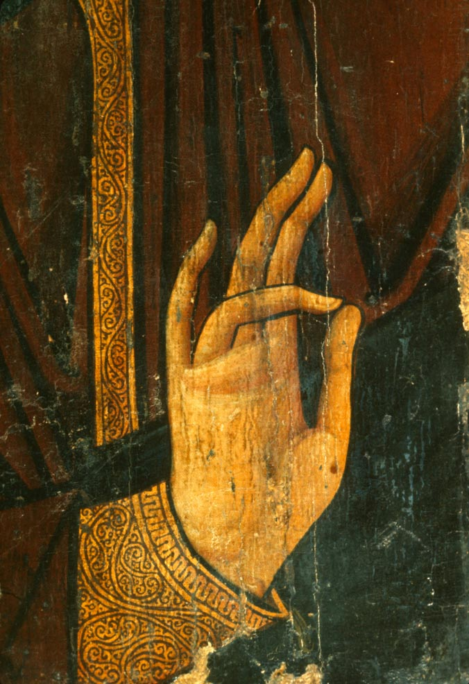 Hand of Christ from Sinai