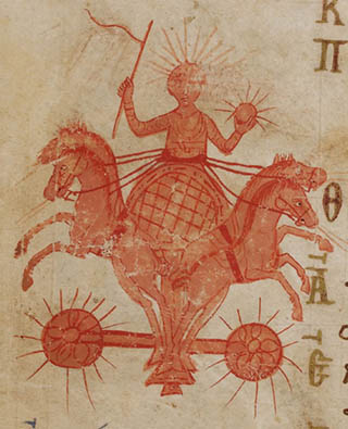 Helios from the Theodore Psalter
