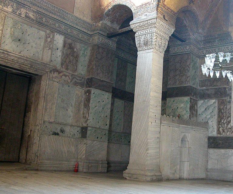Column next to Imperial Metatorium