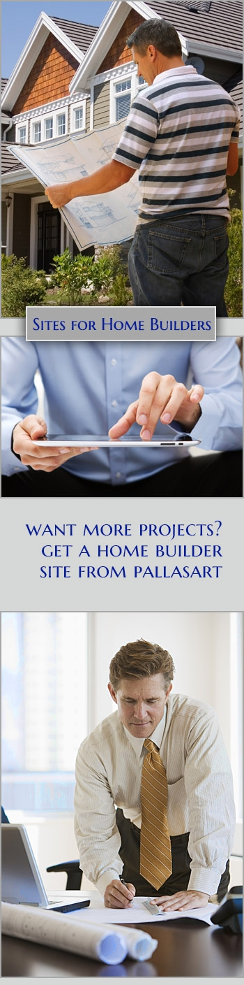 Texas Home Builder websites