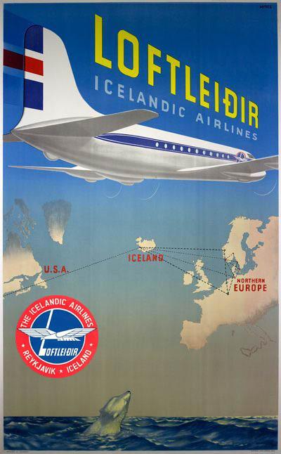 Icelandair Ad - Pallasart Web Design