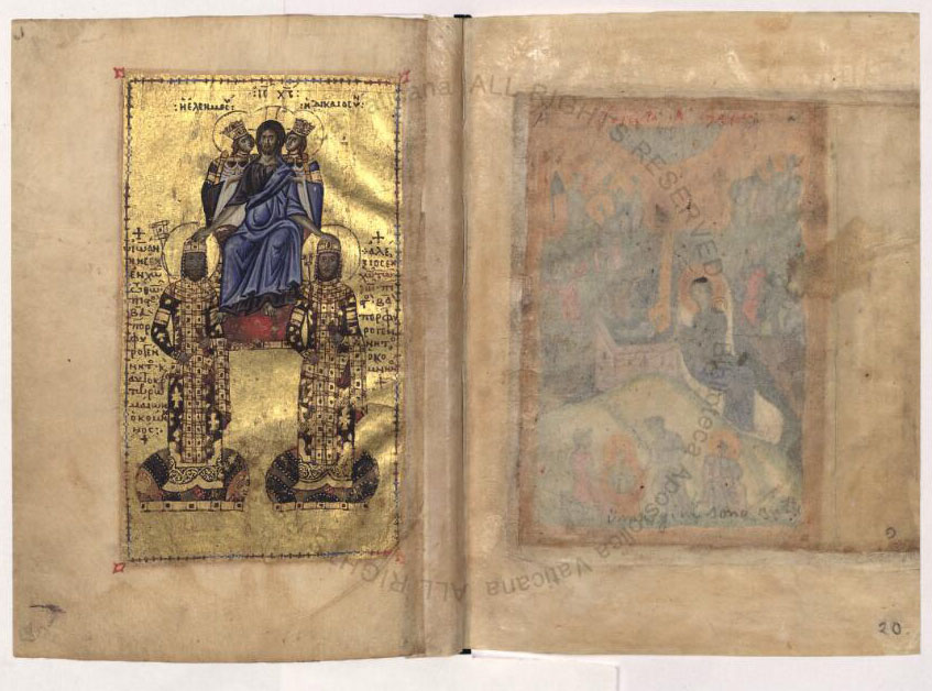 Family gospel John II front page