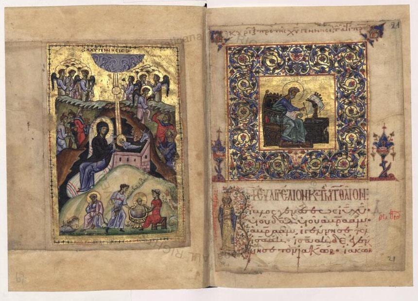 Illuminated Gospels of John II