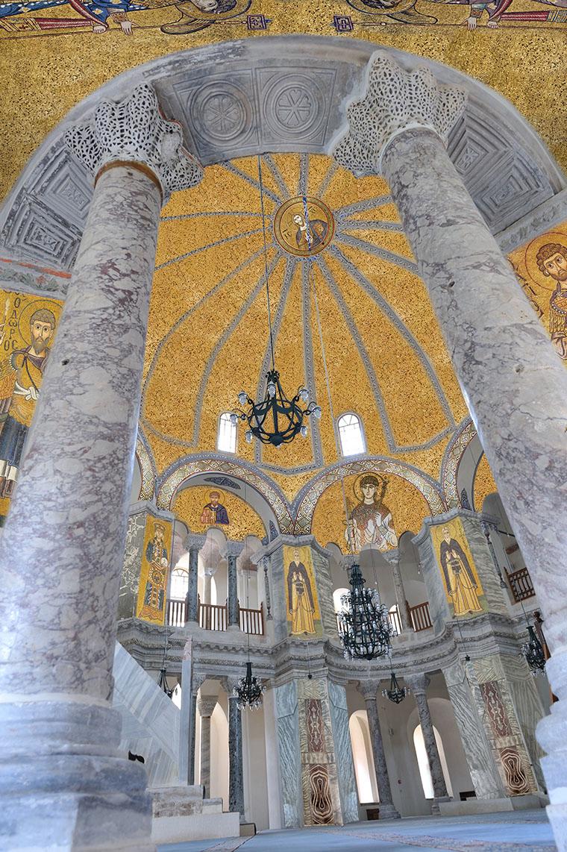 Interior of Sergius and Bacchus