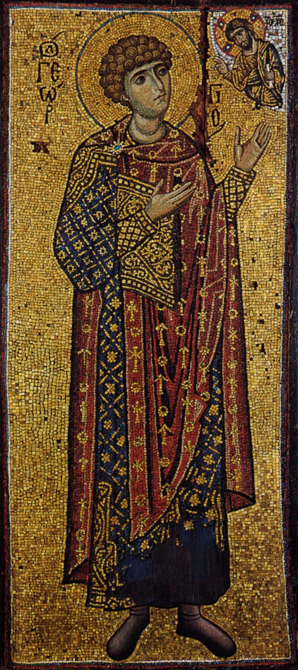 Miniature Mosaic of St. George