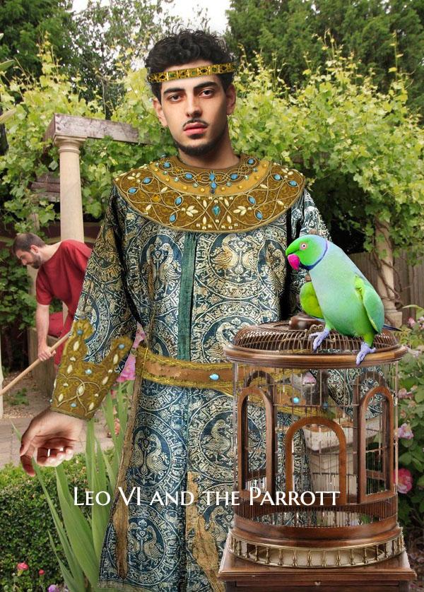 Byzantine Parrot Leo VI