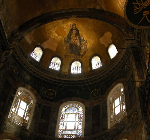 Virgin and Child from the Apse of Hagia Sophia
