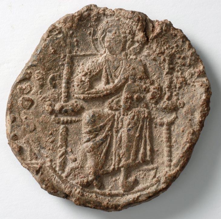 lead seal of Bertha-Irene wife of Manuel I