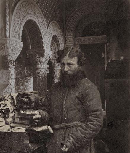 Man in Byzantine Palace