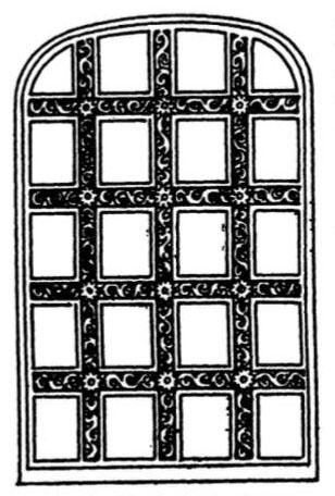 Marble Window Frame Hagia Sophia