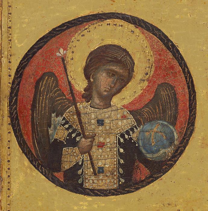 Mellon Madonna left angel