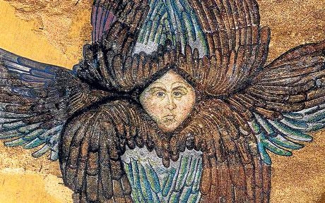 Image of the Seraphim from Hagia Sophia
