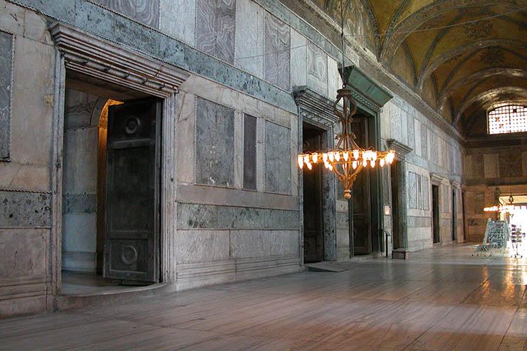 Main doors - Inner Narthex Hagia Sophia
