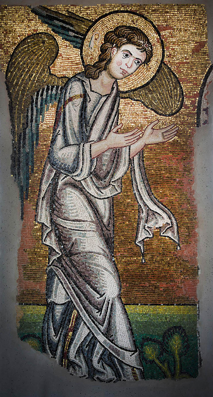 Angel in Church of the Nativity