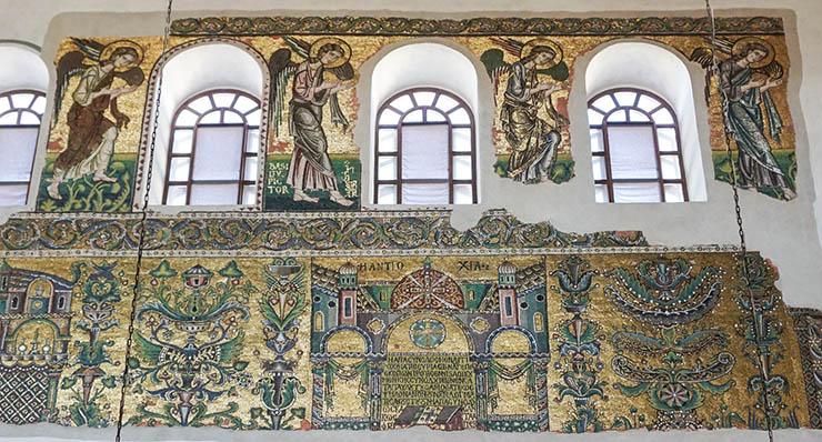 Mosaics of the Church of the Nativity