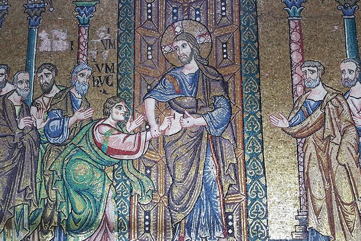 Doubting Thomas and Christ
