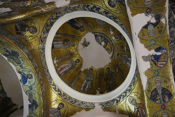 Byzantine Mosaics and Art - Nea Moni