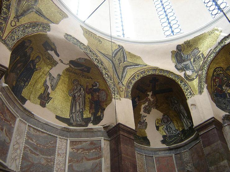 Byzantime Art - Mosaics of Nea Moni