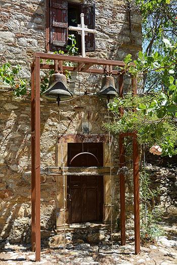 Bells of Nea Moni Monastery on Chios