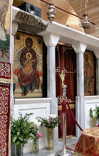 Iconostasis of Nea Moni on Chios