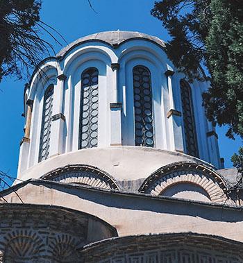Byzantine Architecture - the dome of Nea Moni