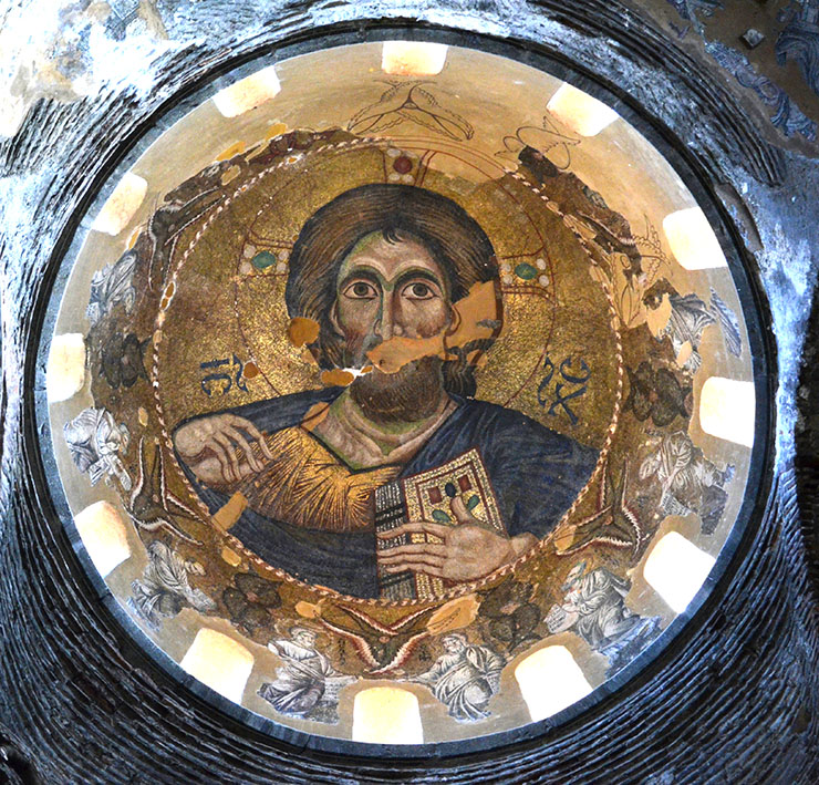 Christ Pantokrator Church Parigoritissa in Arta