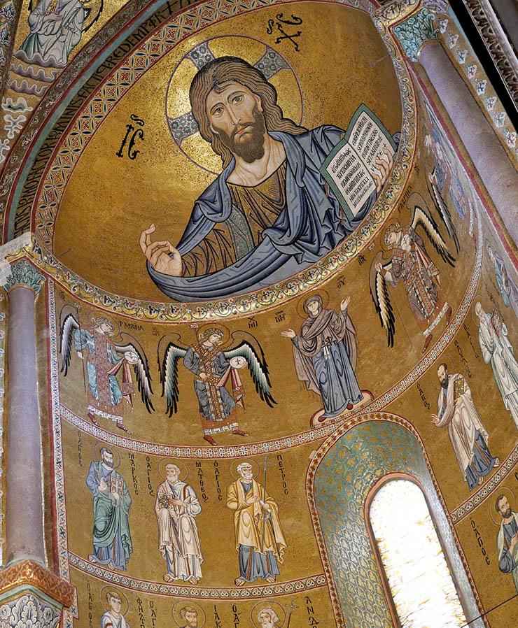 Christ Pantokrator Komnenian art