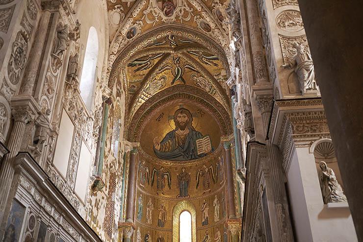 Byzantine art - mosaic Norman Sicily