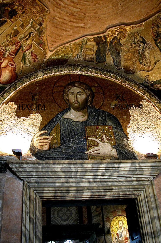 Christ - Savior of the world - Byzantine icon