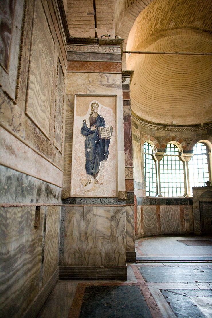 Byzantine art mosaic of Christ Pantokrator