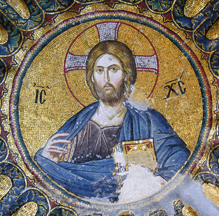 Christ Pantokrator from dome Chora Church