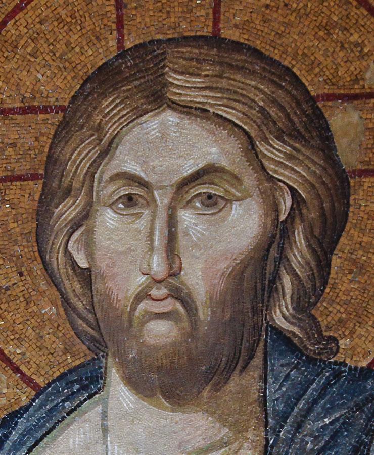 Christ the Savior - close-up of beautiful face