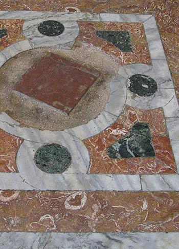 Opus sectile floor of the Chora Church