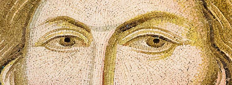 Eyes of Christ - Byzantine Icon - Chora