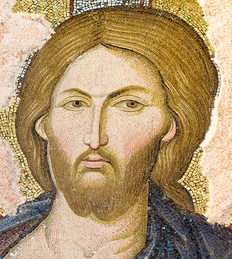 Face of Christ - Icon of the Deesis Chora Church